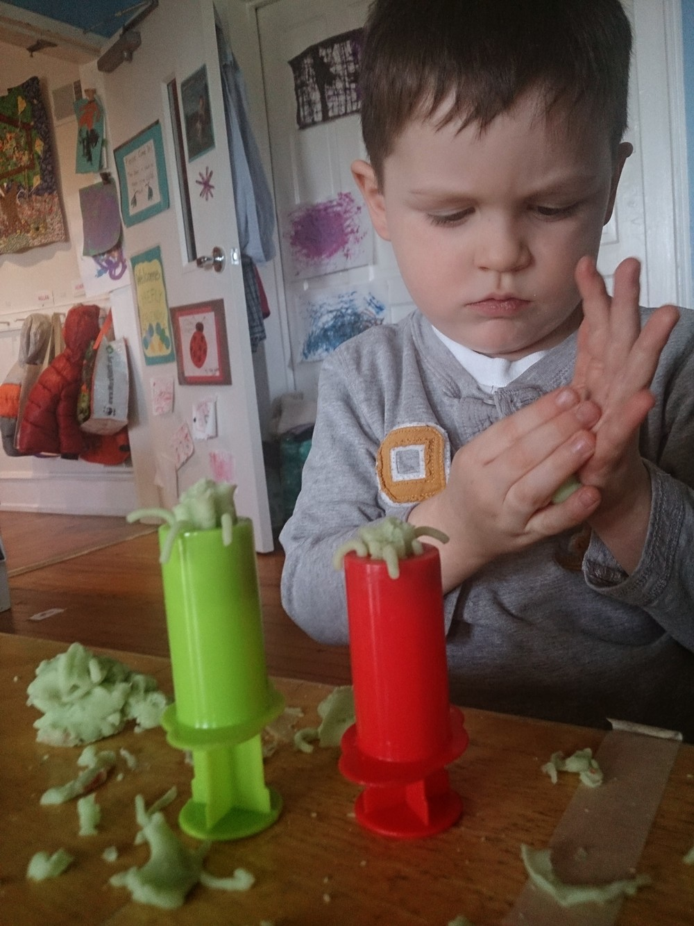 Play Dough Pushers!