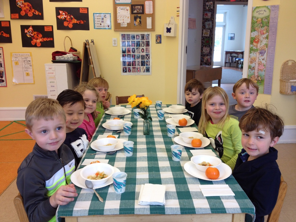 We  made Stone Soup for a Chinese New Year lunch.