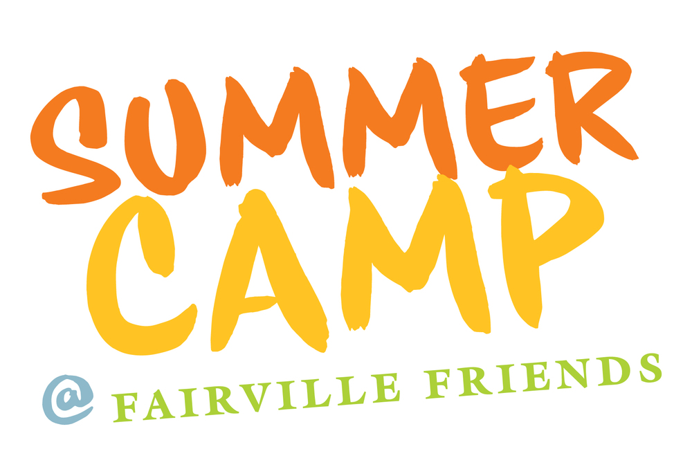 summer camp sign vector color  Summer Camp Vector
