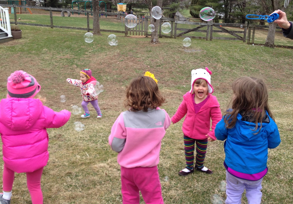 Popping bubbles!