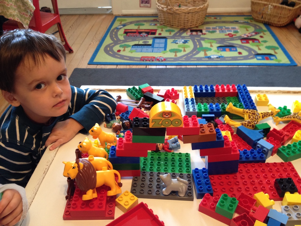 Building a zoo with Duplo Blocks