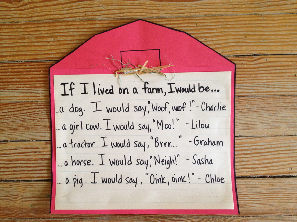 A class farm story...