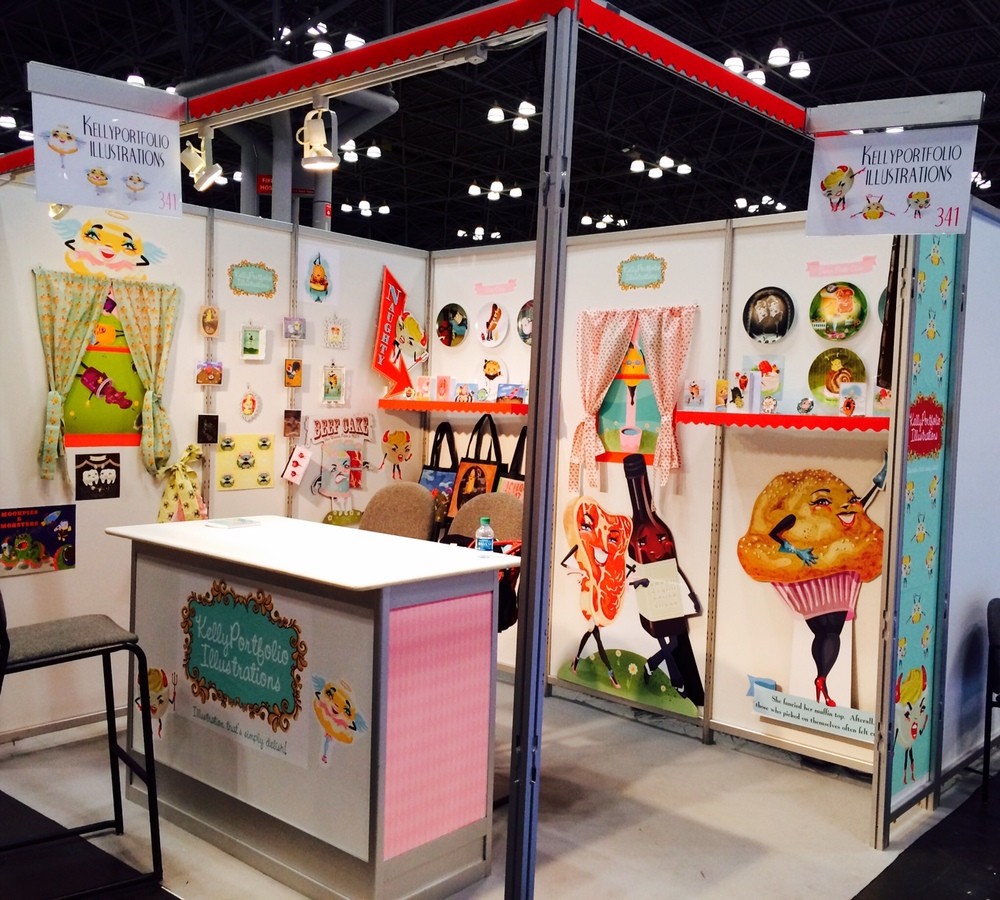 Thank you all for visiting me at SURTEX, NYC!! What an amazing debut!