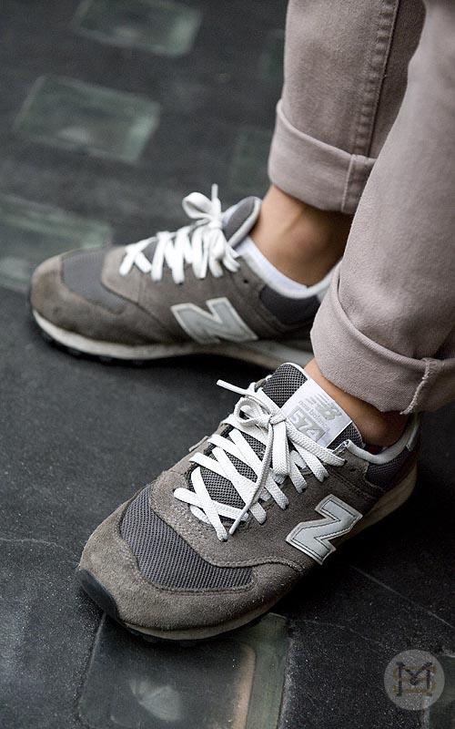 People Shoes Sport Balance Noir