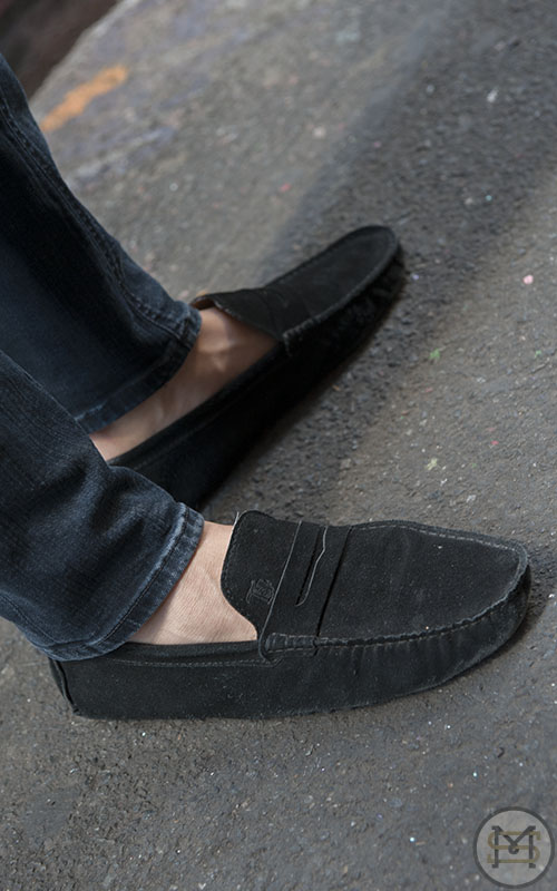 Street Fashion - Union Lane, Friday 15th March 2013. Pic shows: JESPER in Tod's