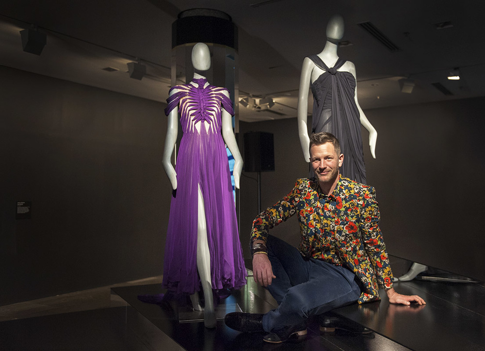 Jean-Paul Gaultier exhibition curator Thierry-Maxime Loriot at the NGV  media launch nbsp  100cfdbfa