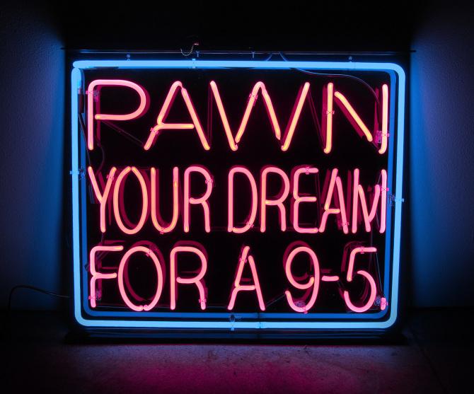 'A dream deferred' - Neon 2013