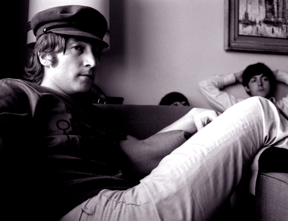 John Lennon in Anchorage, 1966 by Robert Whitaker
