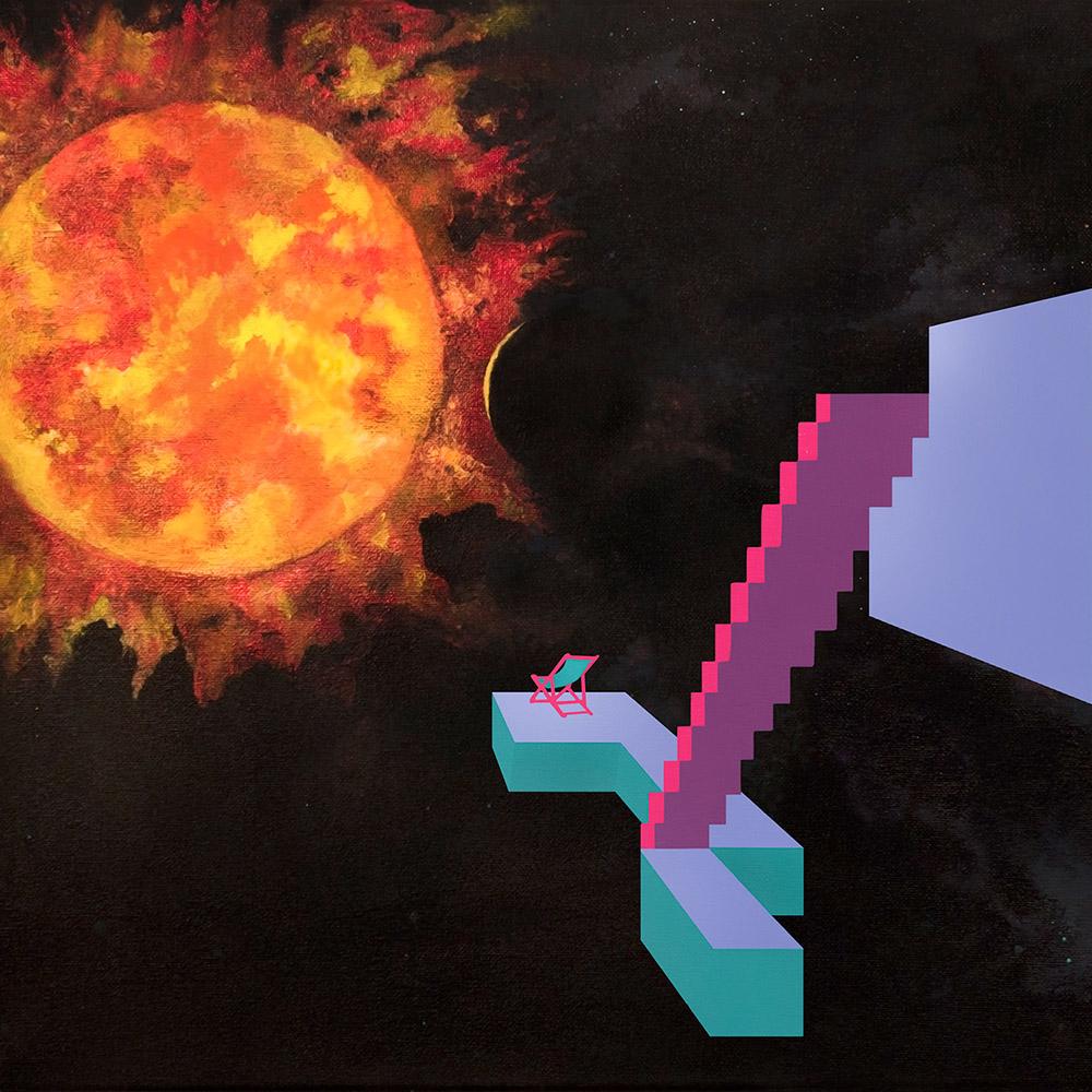 """Dorsal Fins -  """"Gripless 12"""" Vinyl Artwork"""