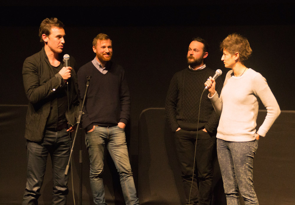 Cast & crew answer questions at the MIFF screening