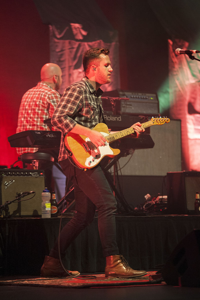Boy & Bear lead guitarist Killian Gavin