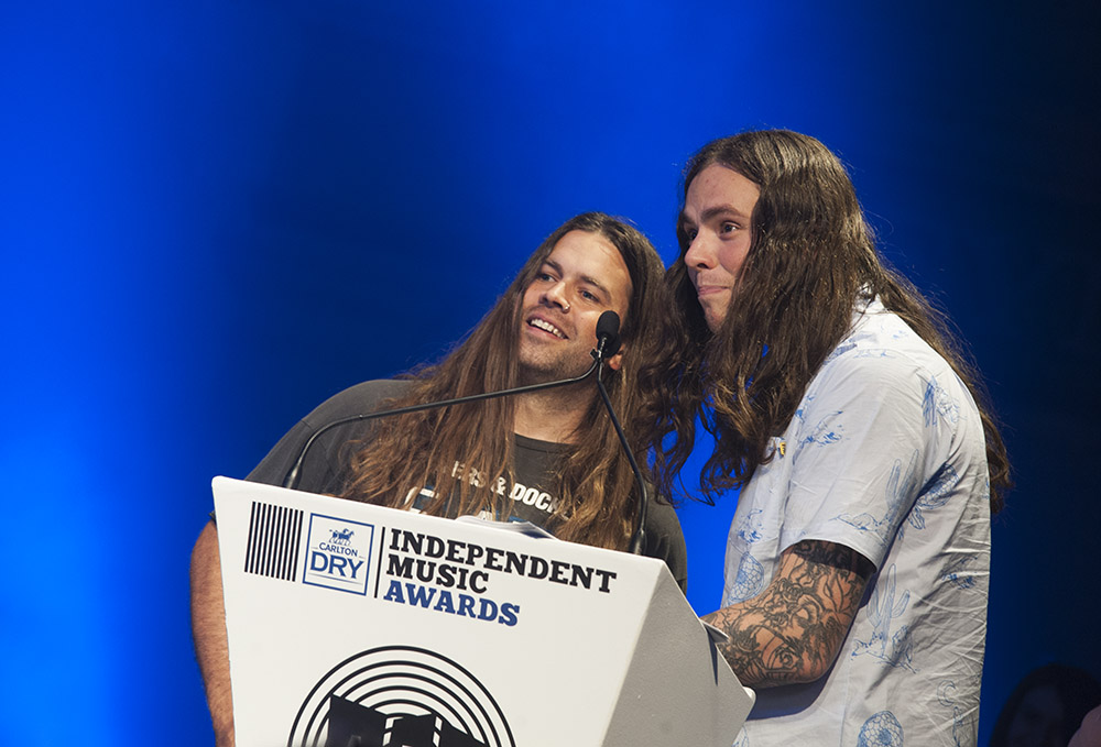 Best Independent Album &   Best Independent Hard Rock, Heavy or Punk Album winners Violent Soho