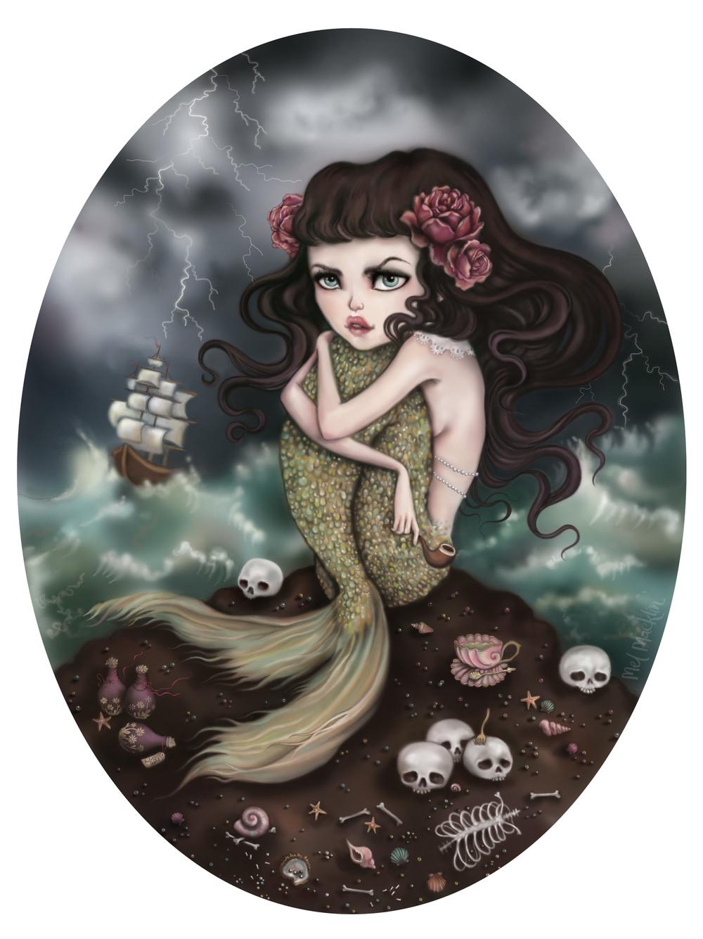 Salty Tears and Shipwrecks by Mel Macklin