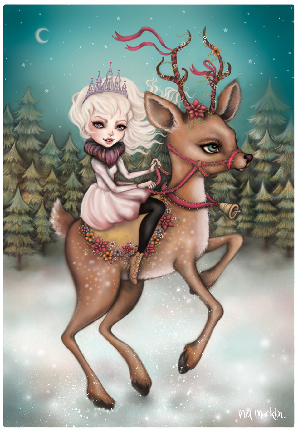 Of Fir Trees and Little Queens by Mel Macklin