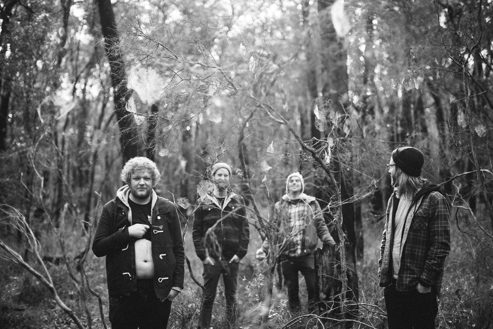 The Smith Street Band Photographed by Andrew Johnson