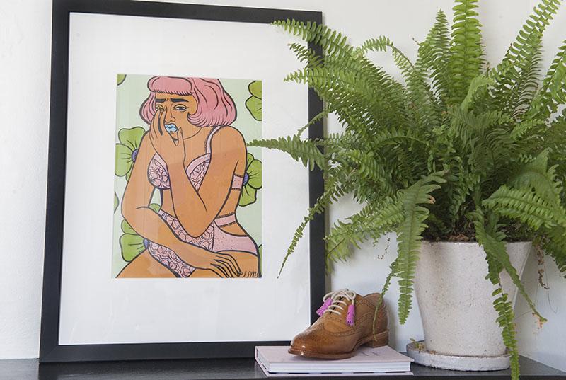 'Fresh Panties' - Susanna Rose Sykes