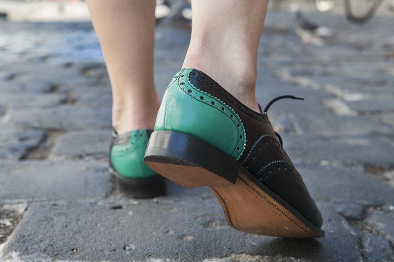 The Victorine x Susanna Rose Sykes Kickstarter shoe design