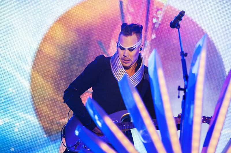 Luke Steele from Empire Of The Sun