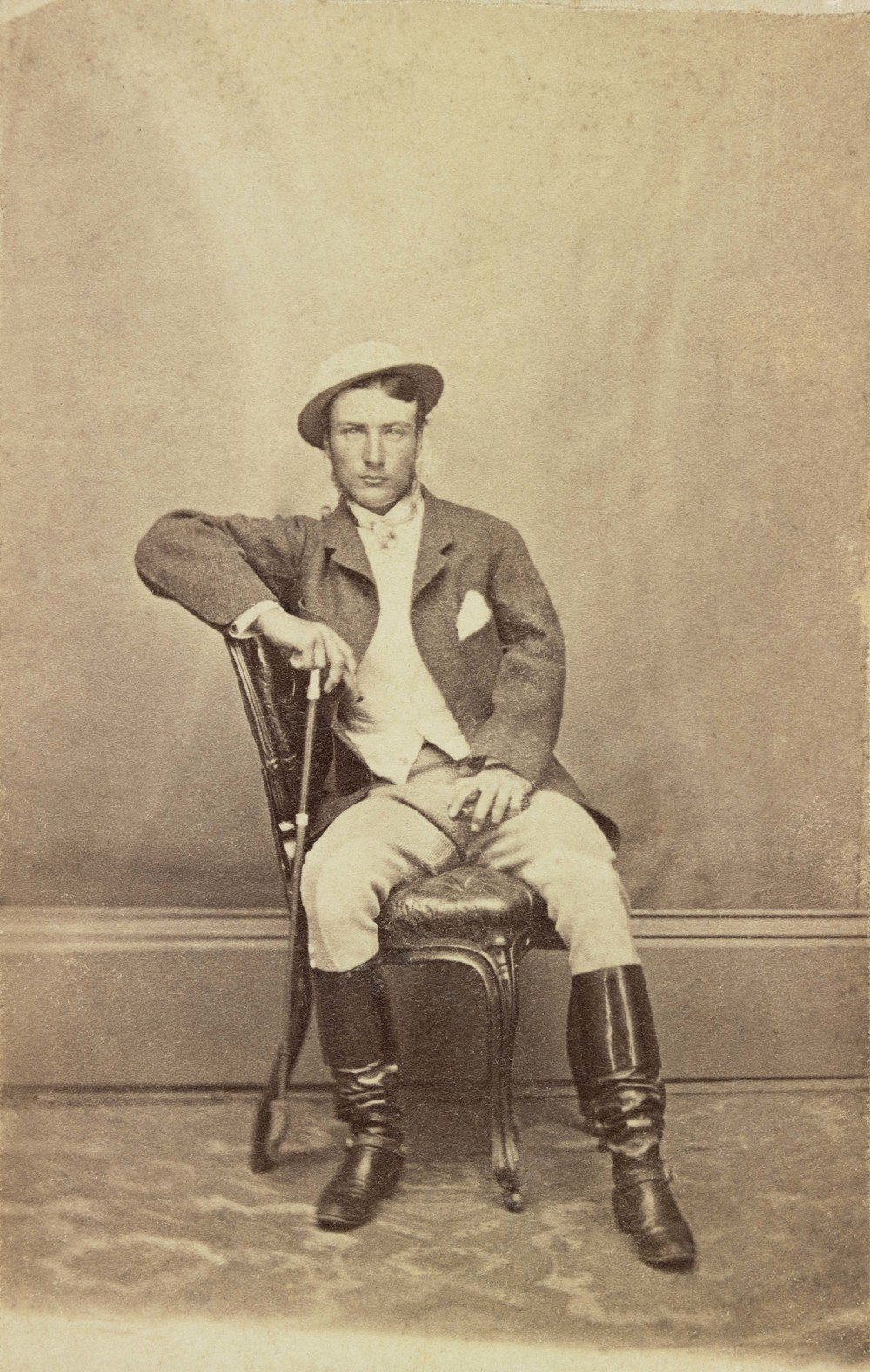 Marcus Clarke, Unknown photographer, 1866 - Courtesy of the State Library Victoria