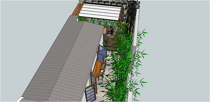 Newtown Courtyard Design