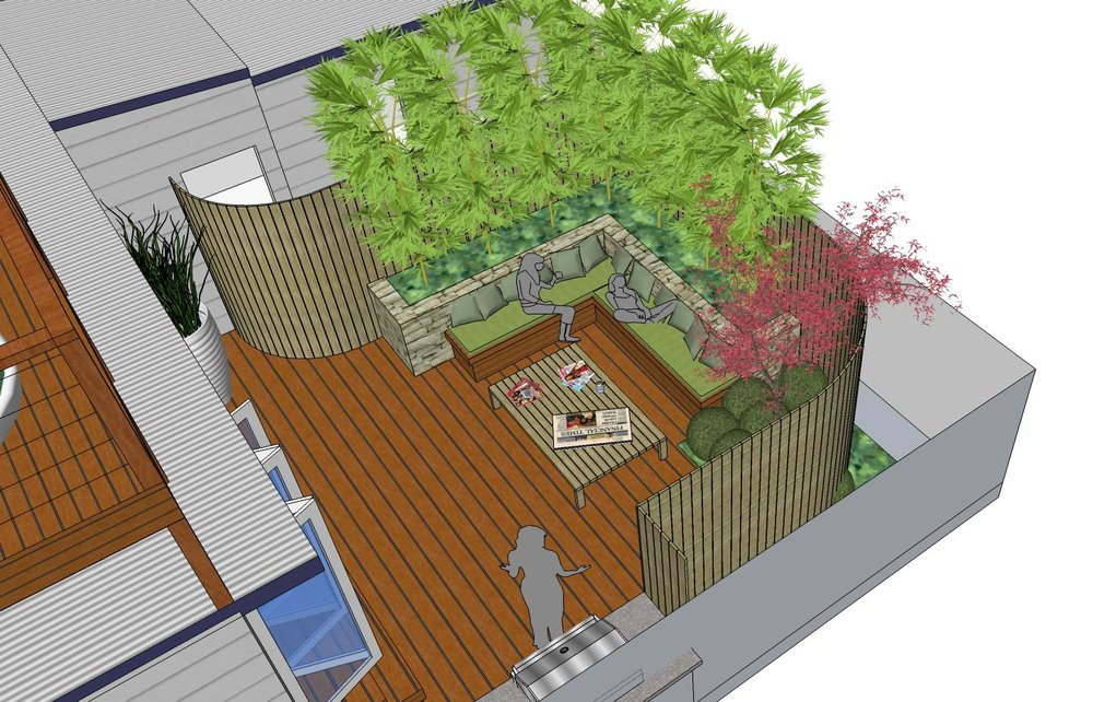 Rozelle Garden Concept