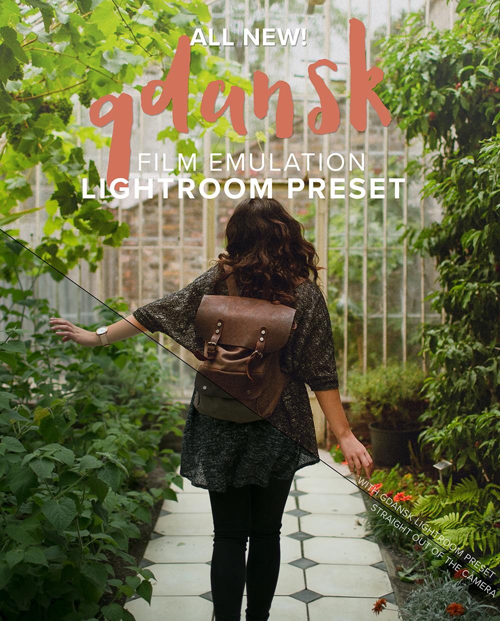 LIGHTROOM PRESETS: GDANSK — Digital Film Actions - Lightroom
