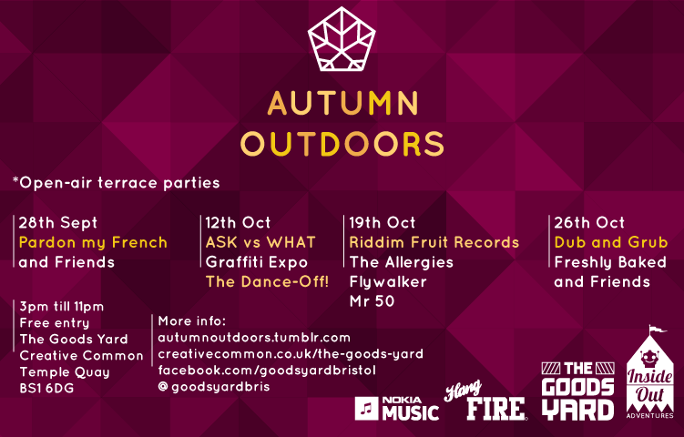 The Goods Yard present Autumn Outdoors.