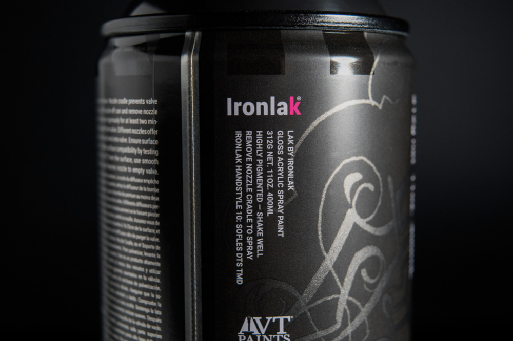 ironlak spray paint bristol