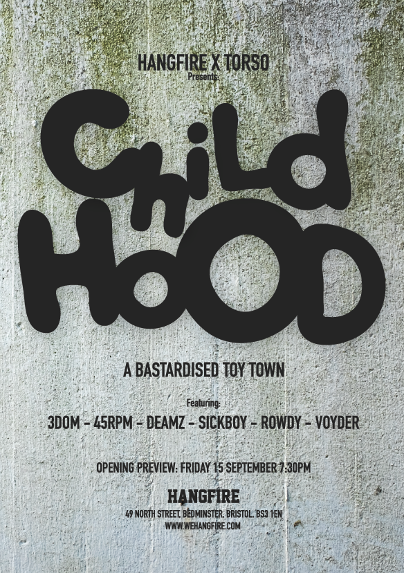 HANGFIRE x TORSO - CHILD HOOD