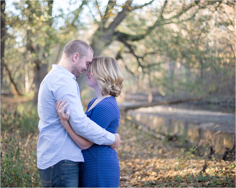 Genoa, IL. Engagement session - C&E enjoying a moment