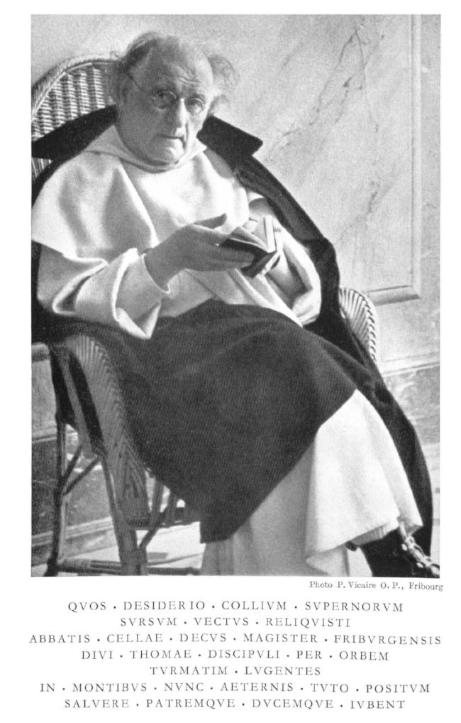 Gallus M. Manser OP (ob. 1950)