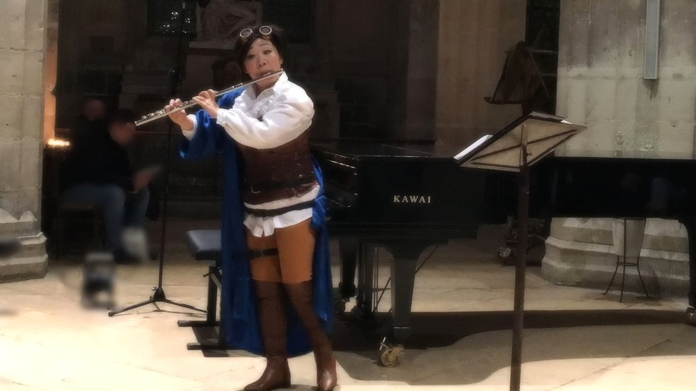 Concert -premiere- at Saint Merri Church, Paris - October 28, 2017