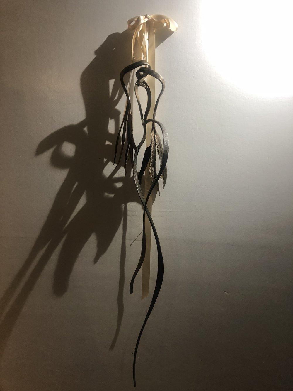 """Fleet of Foot"" 98cm long Wrought iron  Melissa Coles"