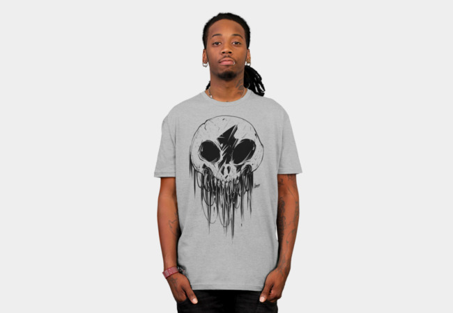 Feathered Skull Tee   The feathered skull can be used to reach across dimensions into the world of Kōnazon. Just be very careful about who you summon.