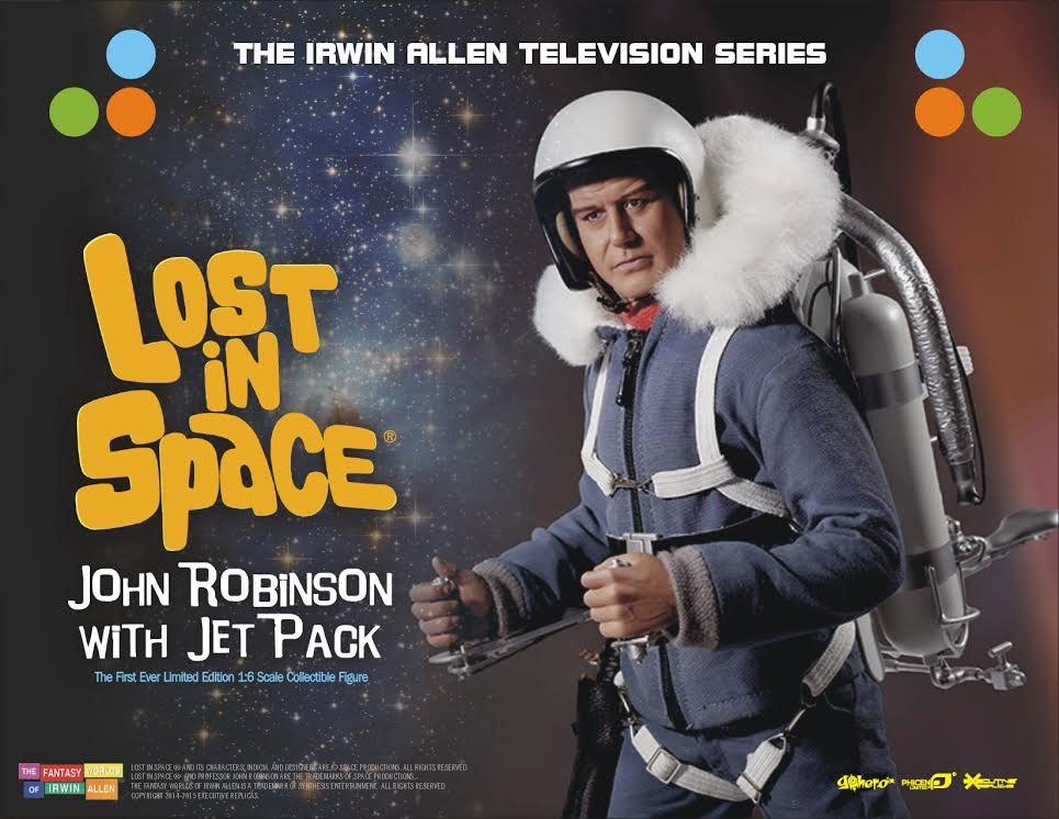 Lost In Space John Robinson with Jet Pack