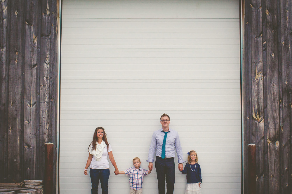 That's us. With our little ones. Photo by Nataal, another great photographer.