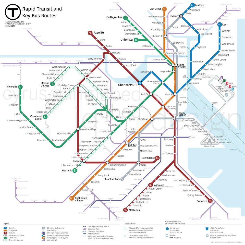 MBTA Map + Proposal — CYRUS DAHMUBED WORKS