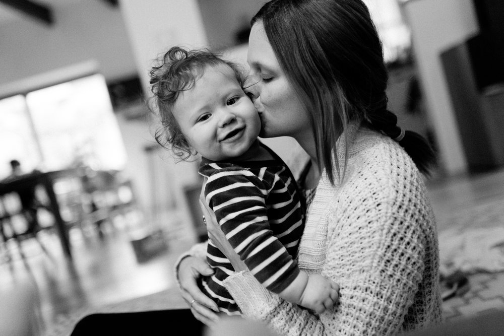 Monotasking du jour : embrasser ces belles grosses joues (Oscar et moi, une photo prise par Paul, 3 ans de mon coeur)