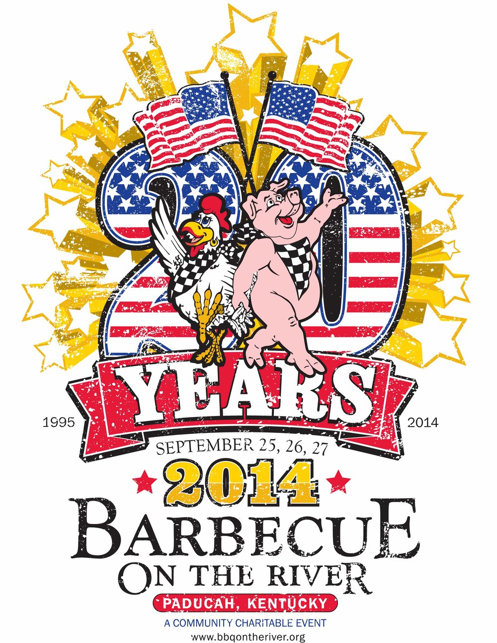 Barbecue on the River logo 2014