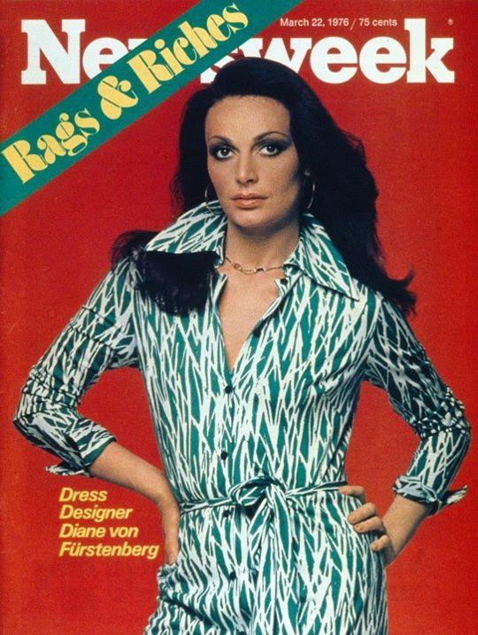 Diane Von Furstenberg - Newsweek 1976