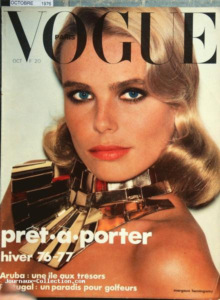 Margaux Hemingway - Vogue 1976