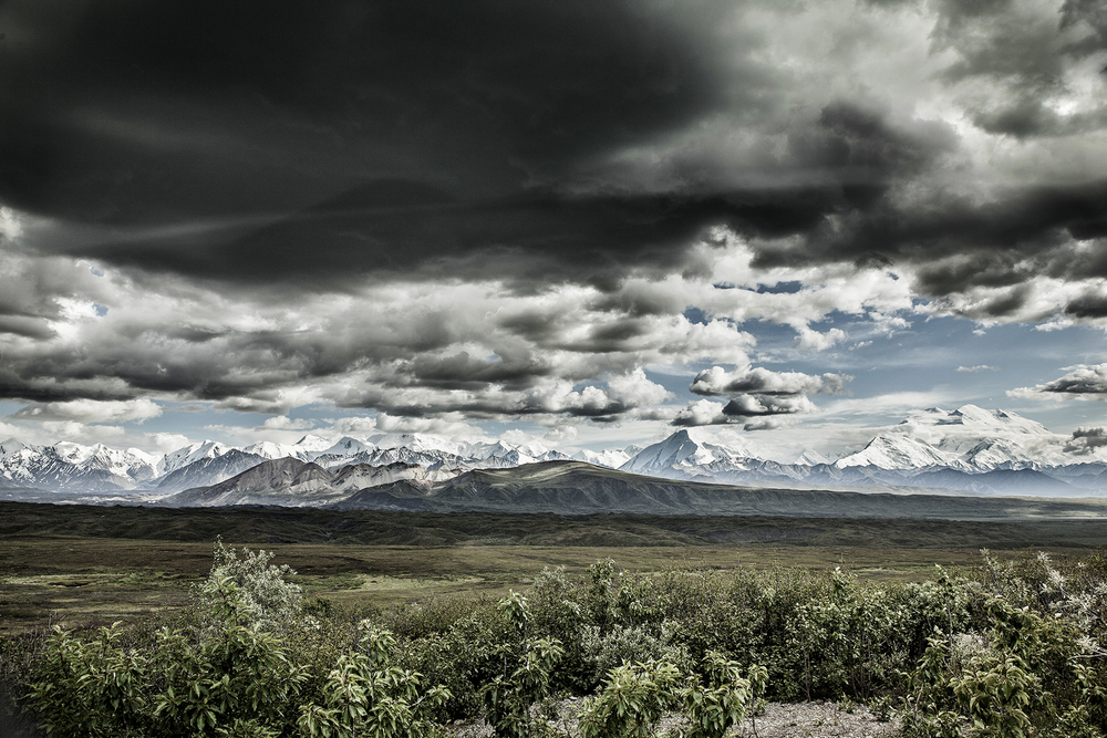 Rain on Denali