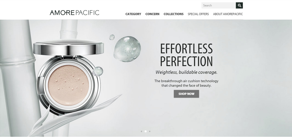 AMOREPACIFIC - High Performance Skin Care | New Example SEM Client
