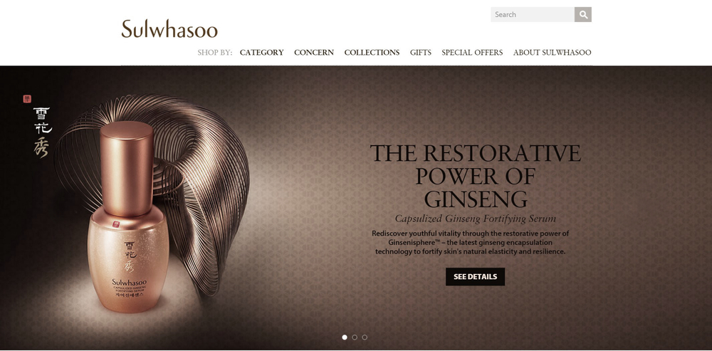 Sulwhasoo - Asian Beauty Secrets | New Example PPC Client