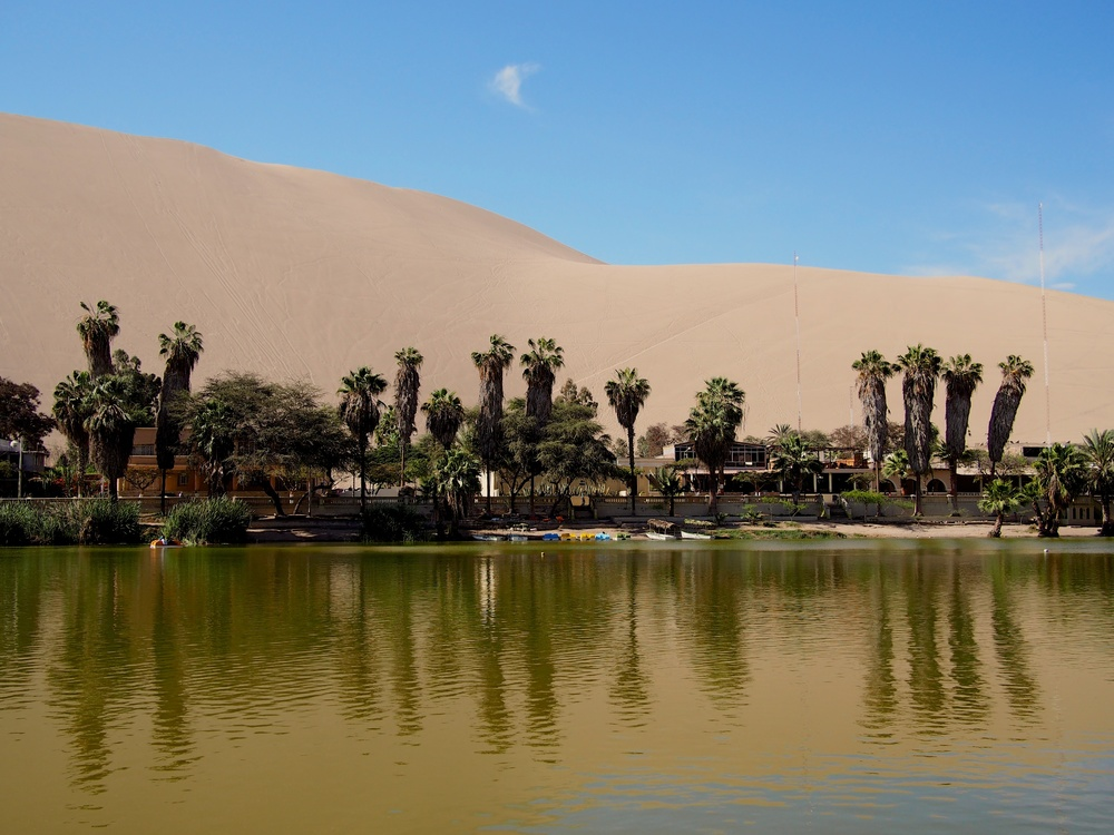 The little town of Huacachina