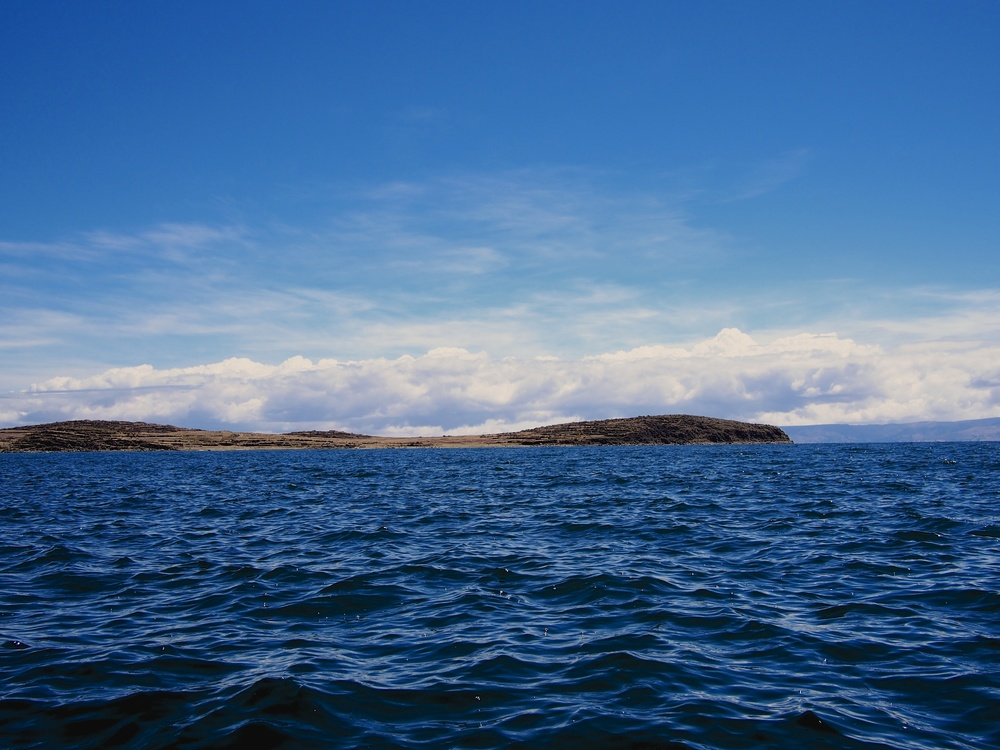 During our boat ride on Lake Titicaca