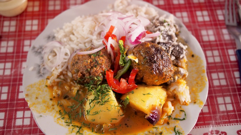 Albondigas - One of my favorite meals in all of South America. Read more about it  here
