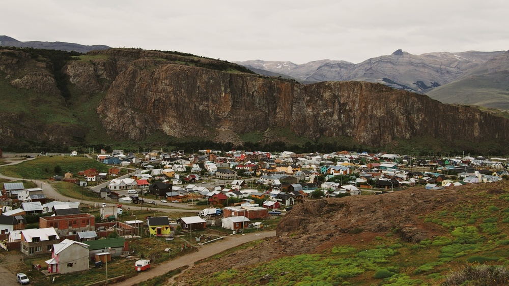 The small town of El Chaltén
