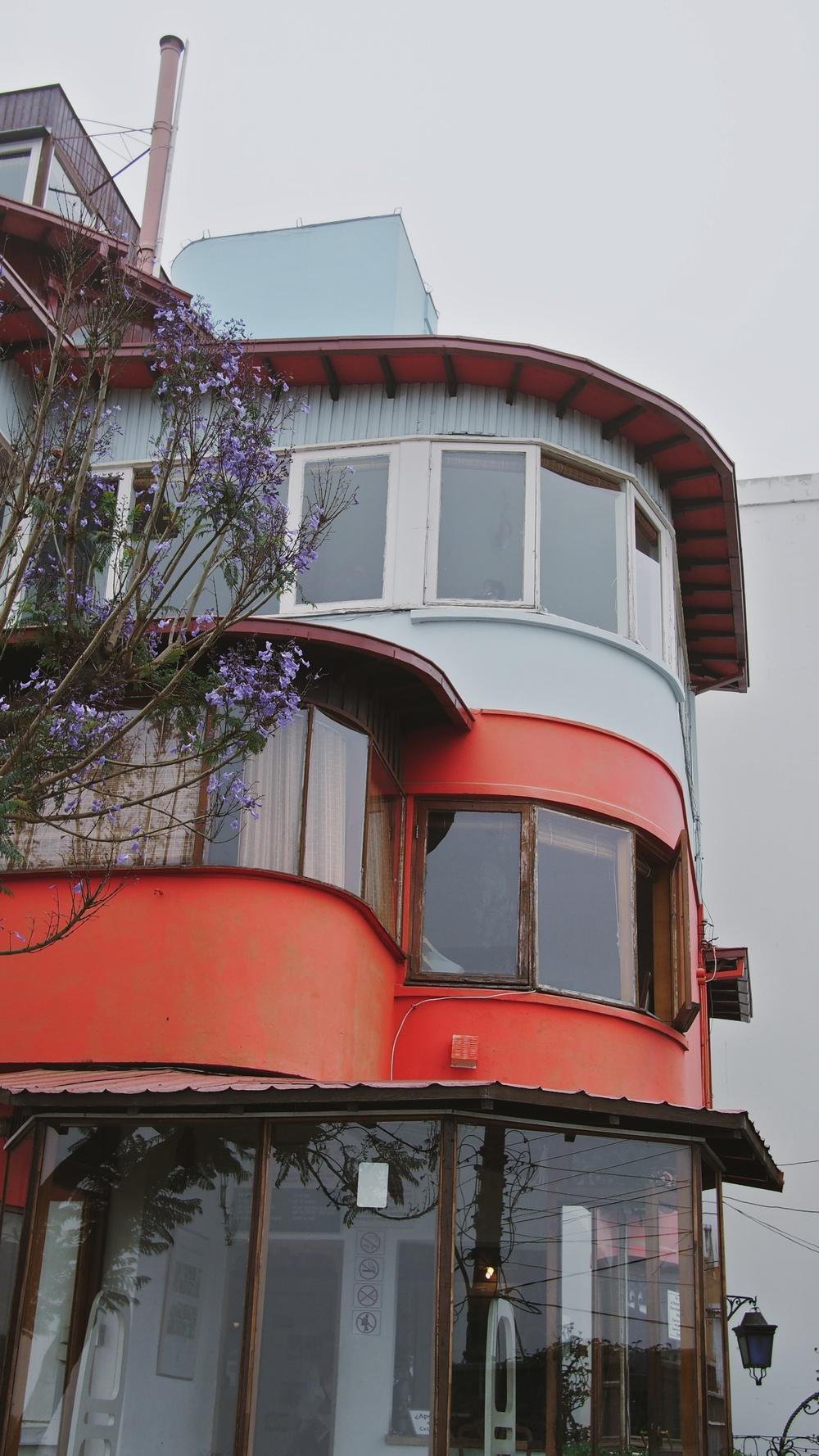Pablo Neruda's house in Valparaíso,La Sebastiana