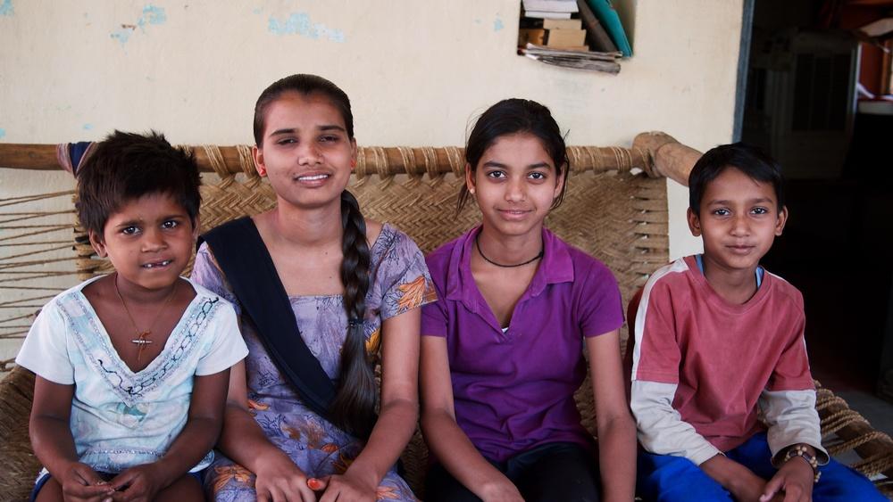 The next door NEIGHBOR, Cousin, Neeku & Visham(from left to right)